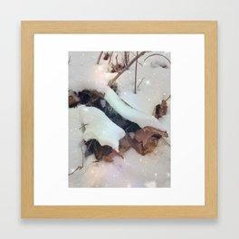 Starlit Snow Framed Art Print