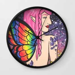 Fairy Dust Wall Clock