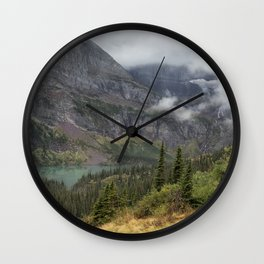 Grinnell Lake from the Trail No. 1 - Glacier NP Wall Clock