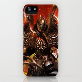 Battle of the Immortals iPhone Case