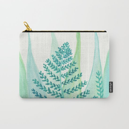 Botanical vibes 05 Carry-All Pouch