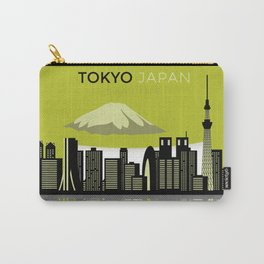 Cool tokyo japan skyline view design Carry-All Pouch