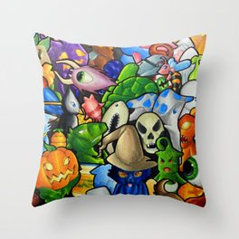 All terraria's pets Throw Pillow