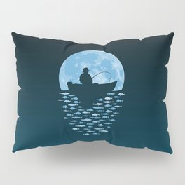 Hooked by Moonlight Pillow Sham