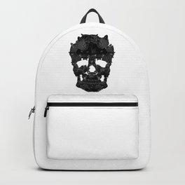 Sketchy Cat skull Backpack