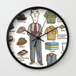 SWING SERIES: LINDY HOPPER (male) Wall Clock
