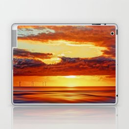 Irish Sea Sunset Laptop & iPad Skin