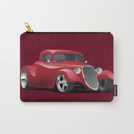 Custom 30s American Red Hot Rod Carry-All Pouch