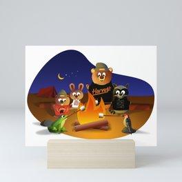 2021 Spring Summit Campfire Mini Art Print