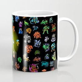 Final Fantasy I Fiends and Monsters Coffee Mug