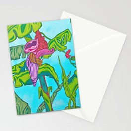 """Guineo Flower"" Stationery Cards"