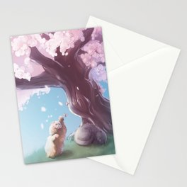 One Fine Spring Afternoon 2 Stationery Cards