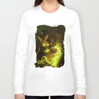 witchcraft Long Sleeve T-shirts featuring Witchcraft by Pinturero