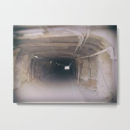 Tunnel To The Other Side Metal Print