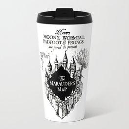 The Marauder's Map Travel Mug