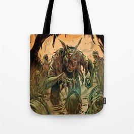 BEWARE THE MUD MUMMIES Tote Bag