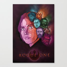 Rogue One Movie Poster Canvas Print