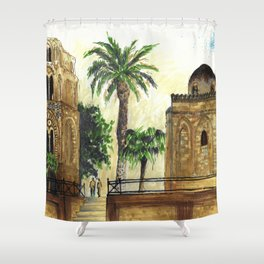 Palmes Shower Curtain