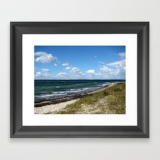 North Sea Coast Framed Art Print