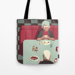 Day Trippers #11 - Diner Tote Bag