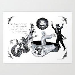 Galvanized Corpse Art Print