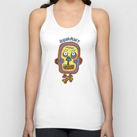 human Tank Tops featuring Human  by PINT GRAPHICS