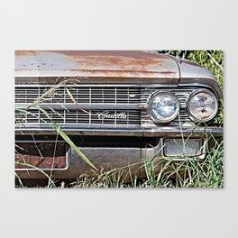 Car Jungle Canvas Print