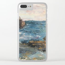 Corona Del Mar Clear iPhone Case