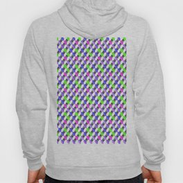 bakground abstraction of different colored mini-art mosaic Hoody
