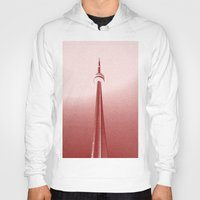toronto Hoodies featuring Toronto by Gold Street Prints