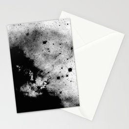 War - Abstract Black And White Stationery Cards