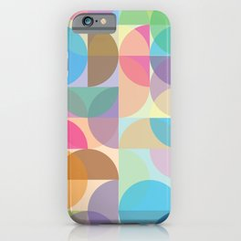 Colorful Abstract Pattern iPhone Case