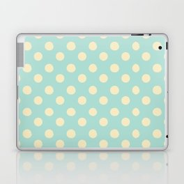 Dotted - Soft Blue Laptop & iPad Skin
