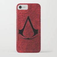 assassins creed iPhone & iPod Cases featuring Creed Assassins Brotherhood by aleha