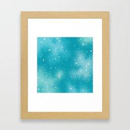 Winter Nebula Framed Art Print