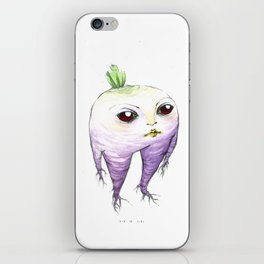 turnip baby iPhone Skin