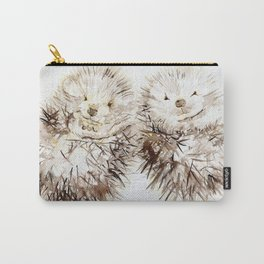 Hedgehog Cuddles Carry-All Pouch