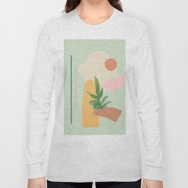 Partially Abstract 3 Long Sleeve T-shirt