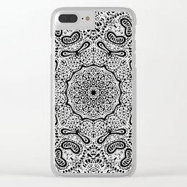 Mehndi Ethnic Style G407 Clear iPhone Case