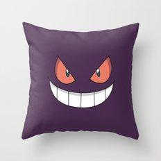 Gengar Throw Pillow