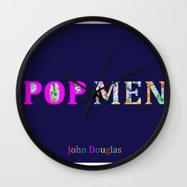 John Douglas POP MEN Wall Clock