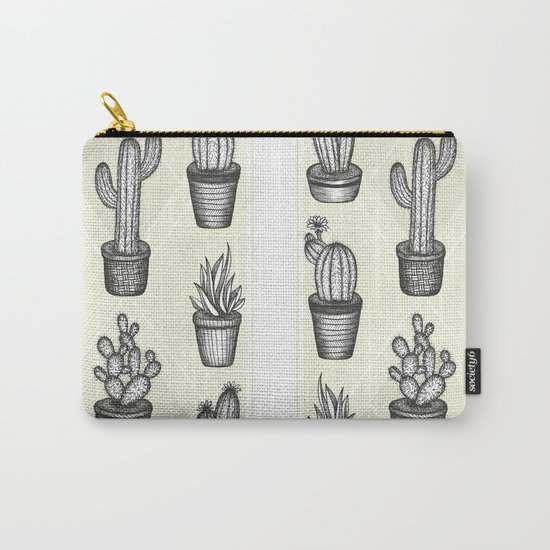 Prickly Friends Carry-All Pouch