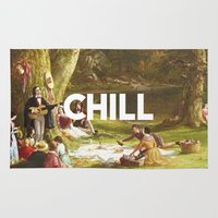 chill Area & Throw Rugs featuring Chill by eARTh