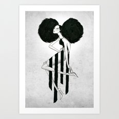 Killer Pose Art Print