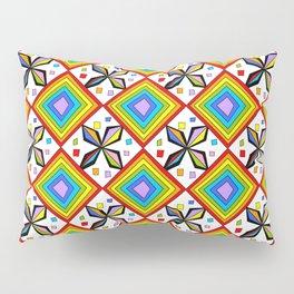 symetric patterns 75-mandala,geometric,rosace,harmony,star,symmetry Pillow Sham