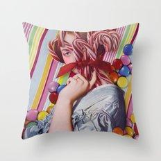 Sacchrine | Collage Throw Pillow