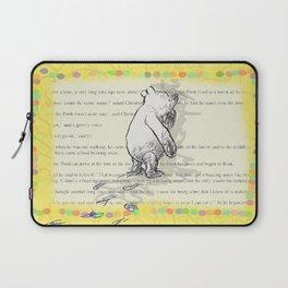 Thinking Bear Laptop Sleeve