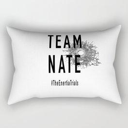 Team Nate Rectangular Pillow