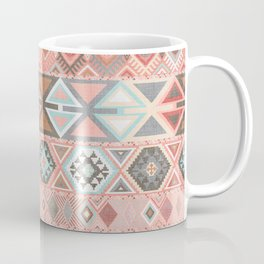 Aztec Artisan Tribal in Pink Coffee Mug