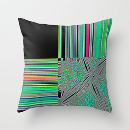 Re-Created Southern Cross XX by Robert S. Lee Throw Pillow